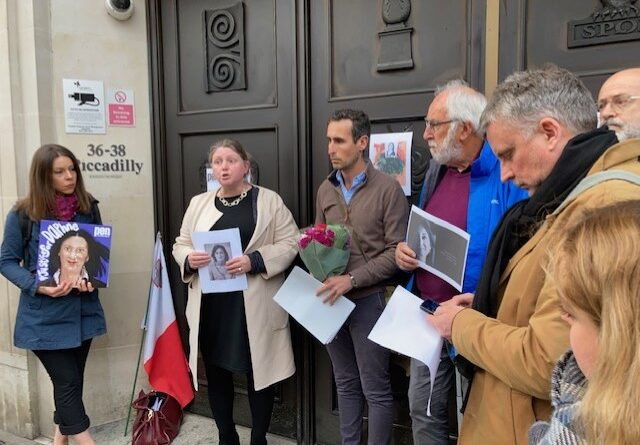 CJA demands justice for Daphne Caruana Galizia on 4th anniversary of her murder